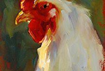 ayam jago paint