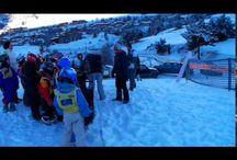 classe de neige / passer une semaine en hiver sur le domaine de Val-cenis