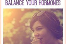 Balance Hormones / by Blaire Shultz