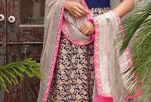 Lehenga cholis, ethnic wear, saree