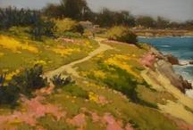 Painting around Monterey