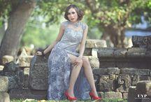 "Indonesian / Indonesian look ""kebaya"""