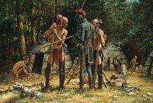 Native American - Paintings of
