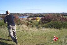 Discgolf / Æ Disc golf klub 6100 med domæne i det røde vandtårn i kløften