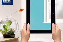 Dulux Visualiser / Nowa aplikacja dzięki której na żywo możesz zmienić kolory ścian w swoim domu.