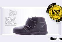 Zapatos lavables Titanitos / Calzado infantil de piel lavable hechos en España.
