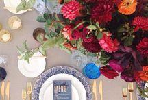Blue & White Chinoiserie Wedding Inspiration <3