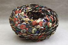 Recycled materials into beautiful things