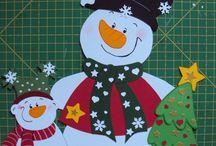 zimowe dekoracje przedszkolne