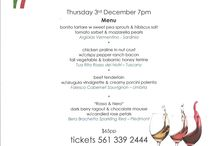 Wine Dinners / A selection of boutique wine dinner menus!  www.cordonbleucatering.com