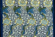 Wallpaper / Mainly wallpaper but also some textile art