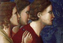 arte - Giotto di Bodone (1267-1337) / arte - pittore e architetto italiano