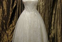 Vintage 1950's bridal gowns / A collection of 1950's bridal gowns available through my shop Recapture Designs