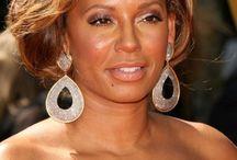 nexthairstyles / African American Hairstyles, Mel B. Hairstyles, Messy Updo Hairstyles, Updo Hairstyles