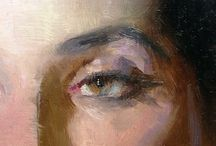 eyes painting