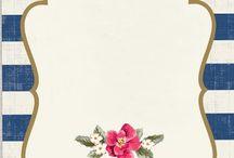 Designing card