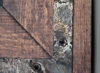 aging wood & metal