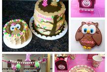Owl Birthday Stuff