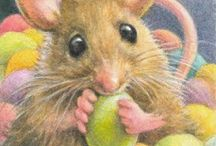 Adorable & Cute Mice Art / Art / by Bonnie Sunday