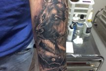 Adam's tattoos