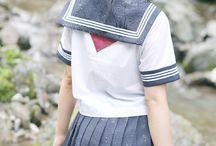 制服 セーラー服スカート