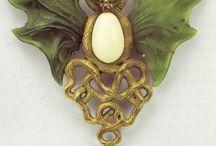 Art nouveau accessories