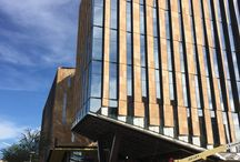 Field Trips / Photographs from February of 2016 from a Construction site visit of the new ASU Center for Law and Society at Arizona State University's Downtown Campus, being built by DPR Construction and designed by Jones Studio Architects.