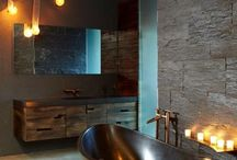 bachelor pad ideas - bathroom