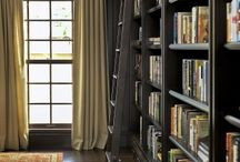 Built Ins/Library or Study / Creating a classic room with built-in shelves and bookcases.
