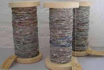 Newspaper yarn / Newspaper