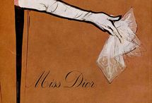 World of C. Dior - Ads and Illustrations / Old, Vintage, Retro