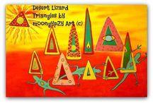 moongypZy Art / Colourful, Imaginative Artwork/Illustrations on Canvas