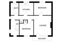 Apartment Floor Plans / Examples of some of the hundreds of floor plans of apartments / flats that I have surveyed and drawn