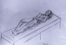 Modeltekenen / Model drawing in France