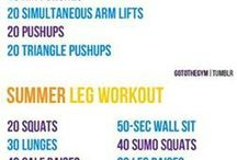 My summer workout plans  / by Ilia Davis