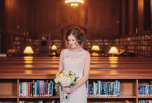 Library Wedding Style