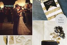 Black and Gold Palette
