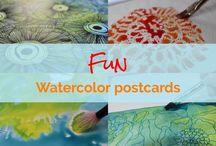 Watercolor & art
