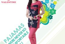 Valentine pajamas / Get stylish pajamas that are really comfortable to wear, only with Valentines Clothes!