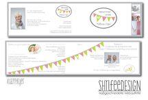 flyer / folder / for advertising the new business