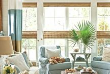 Home- Coastal inspired rooms / by Tracey Shellenberger Edwards