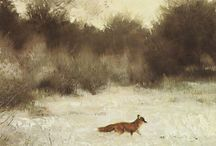 Fox in Art