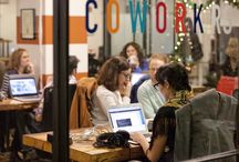 The Benefits of Coworking Spaces / Reasons why some people benefit from working in collaborative workspaces and choose to work in coworking spaces.