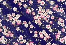 estamparia // florais japoneses