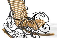 Кресла, стулья, качели
