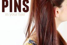 hair pin styles