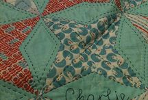Periwinkle Quilts / Quilts forming octagons with kites and diamonds  / by The Caffeinated Quilter
