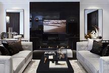 Home ideas - TV wall