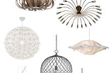 modern chandelier / by Cindy Weller Viken