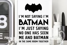 Batman Boys Room / Nursery